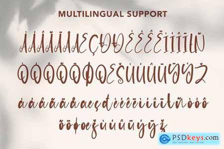 Majorette - Elegant Calligraphy Font