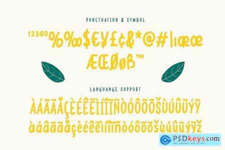 John Lemon - Playful Handwritten Font