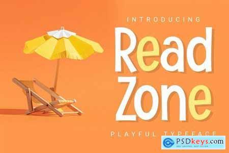 Readzone - Playful Display
