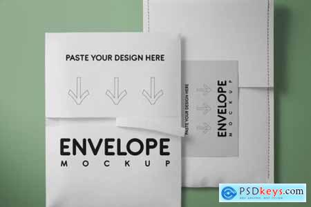 envelope mockup