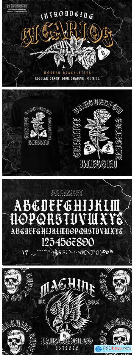 Sicarios Font