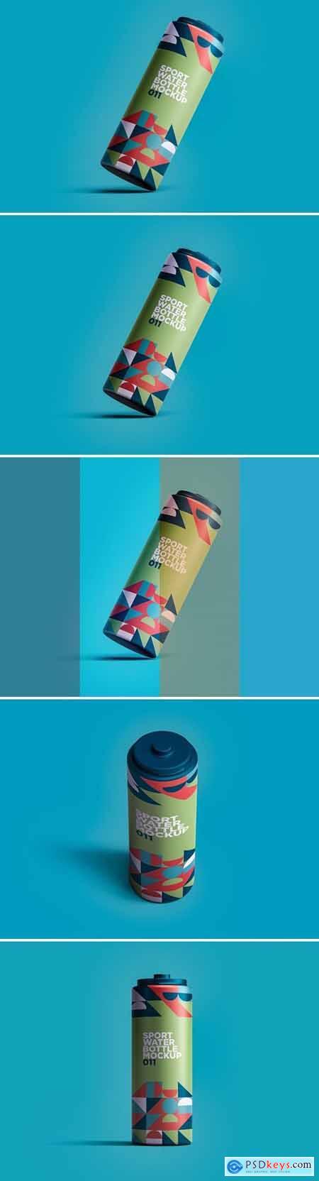 Sport Water Bottle Mockup 011
