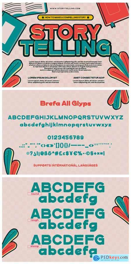 Brefa Font