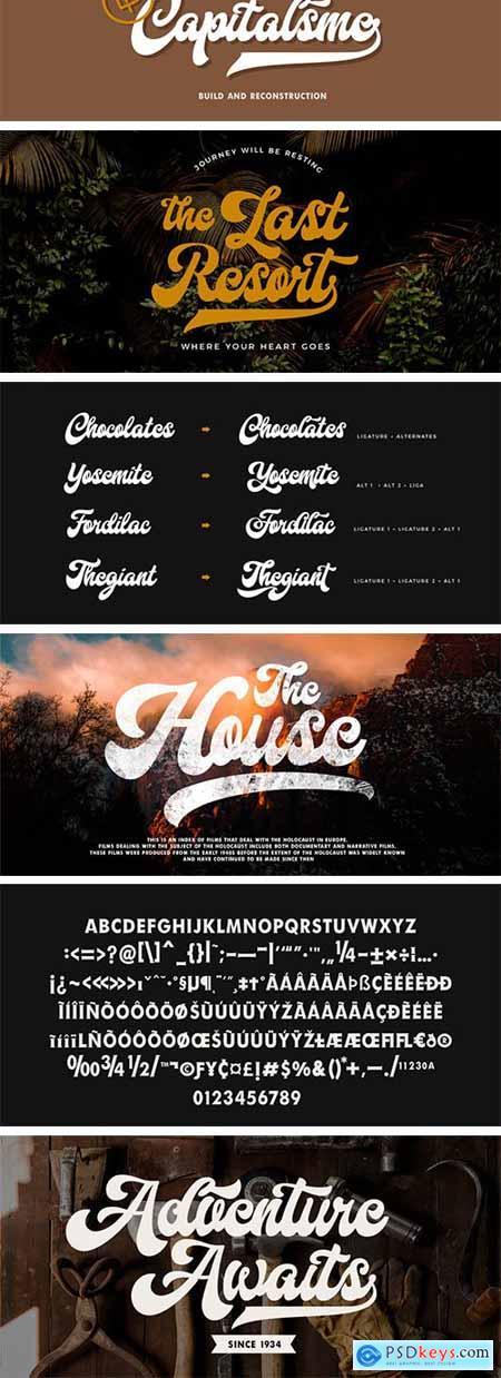 Fd Hallway Font Family
