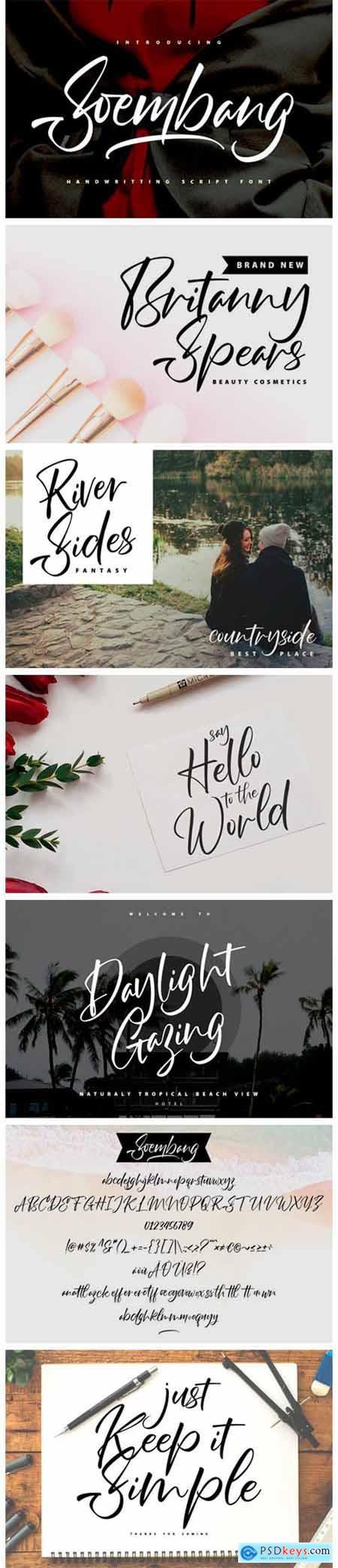 Soembang Font