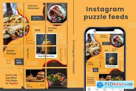 Delicious Instagram Puzzle