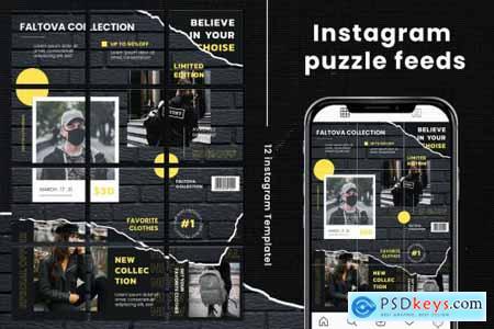 Faltova Instagram Puzzle
