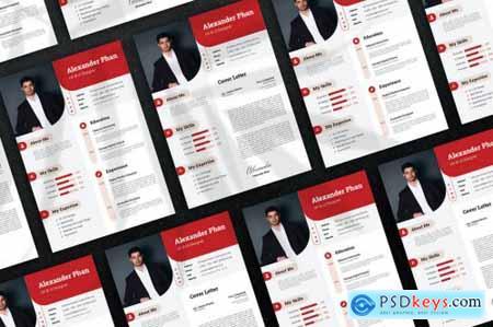 Simple Red - CV Resume