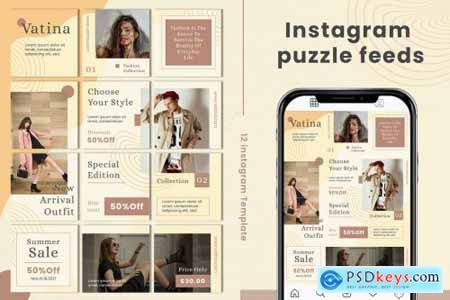 Vatina Instagram Puzzle