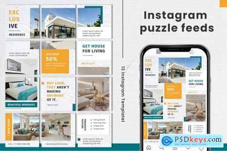 Real Estage Instagram Puzzle