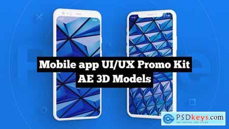 Mobile app - UI-UX Promo Kit 25077023