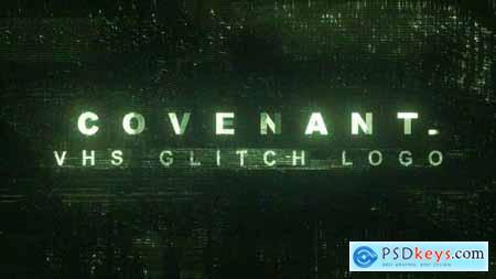 Covenant - 3 VHS Glitch Logo 24159066