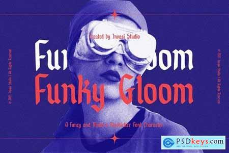Funky Gloom - Fancy Blackletter