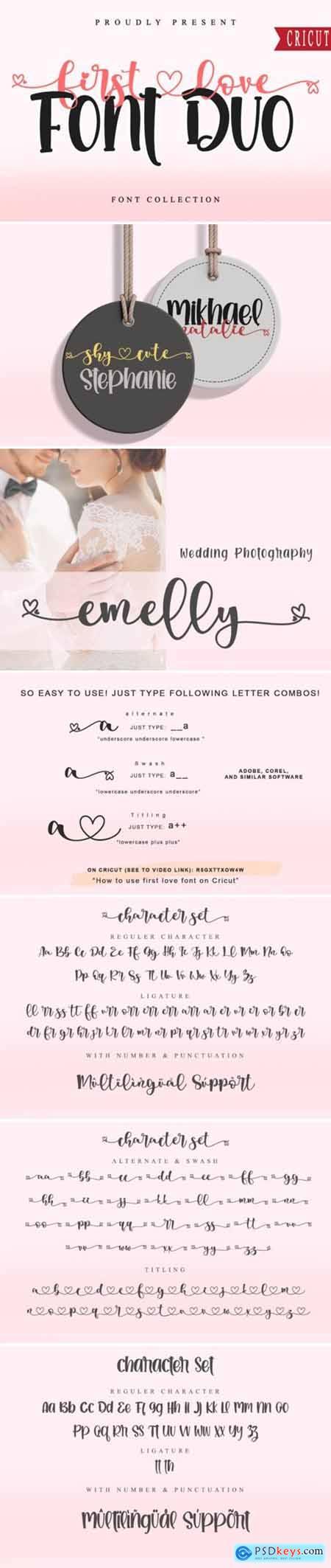 First Love FD Font