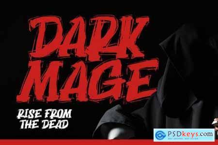 Dark Mage - Scary Typeface