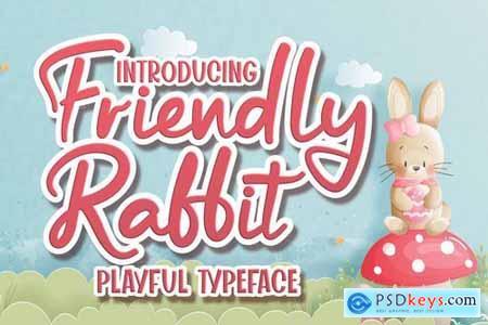 Friendly Rabbit - Playful Typeface