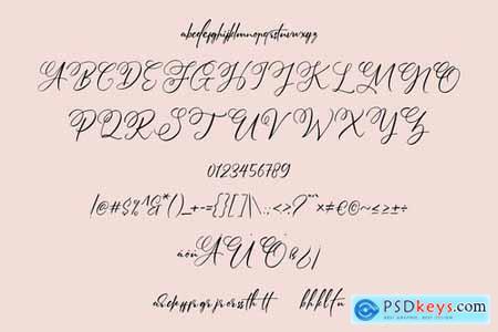 Lowly Bunny Handwritten Script Font