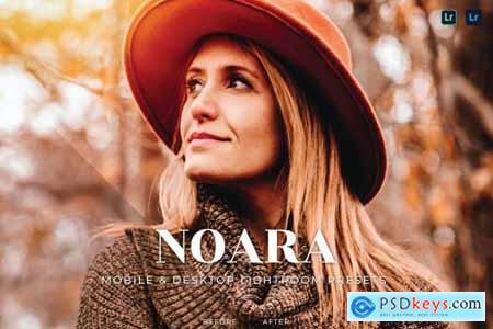Noara Mobile and Desktop Lightroom Presets