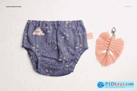 Baby Muslin Pants Mockup Set 6178115