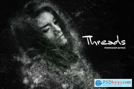 Threads CS4+ Photoshop Action