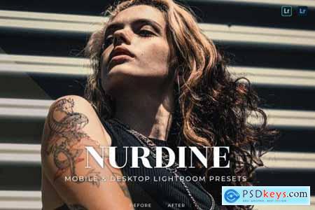 Nurdine Mobile and Desktop Lightroom Presets