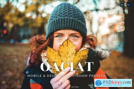 Oaciat Mobile and Desktop Lightroom Presets