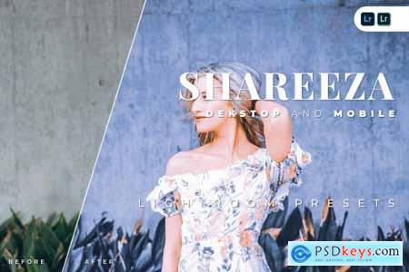 Shareeza Desktop and Mobile Lightroom Preset