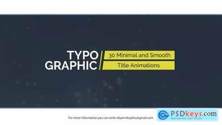 Typographic - 30 Title Animations 20975634