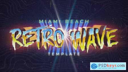 Retro Wave Intro 30455248