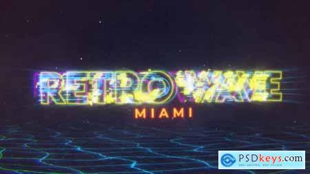 Retro Wave Intro 30466721