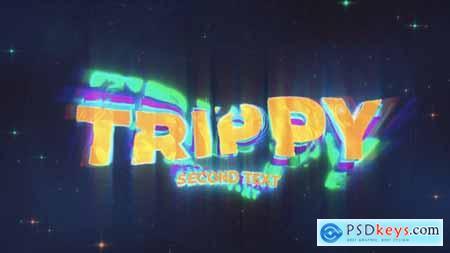 Trippy Wave Intro Logo & Title 30943496
