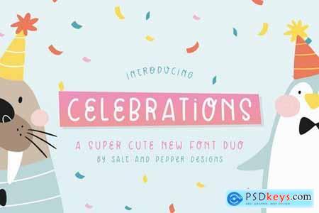 Celebrations Font Duo