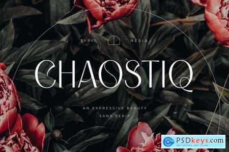 Chaostiq - Modern Sans Serif