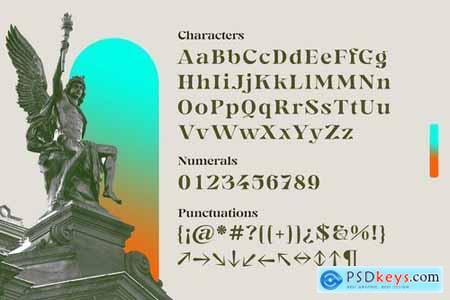 Gegor Serif Display Font 6187832