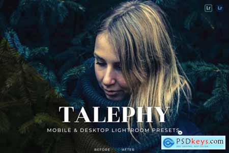 Talephy Mobile and Desktop Lightroom Presets