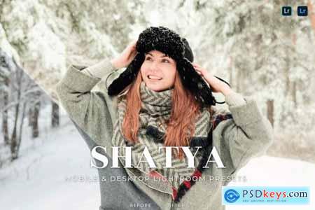 Shatya Mobile and Desktop Lightroom Presets