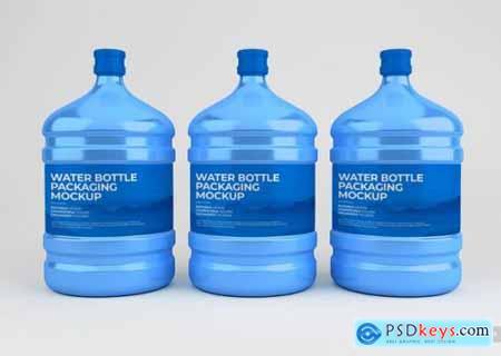 Water bottle mockup 2