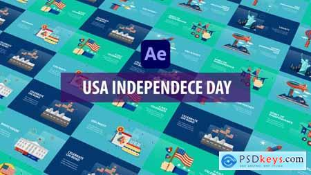 USA Independence Day Animation - After Effects 32600863