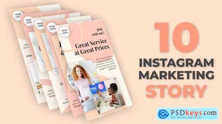 Instagram Marketing Story Pack 32528239