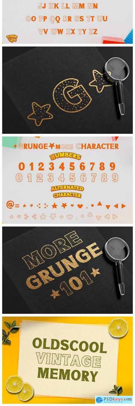 Grunge More Font