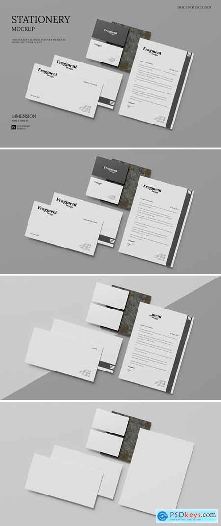 Minimalist Stationery - Mockup