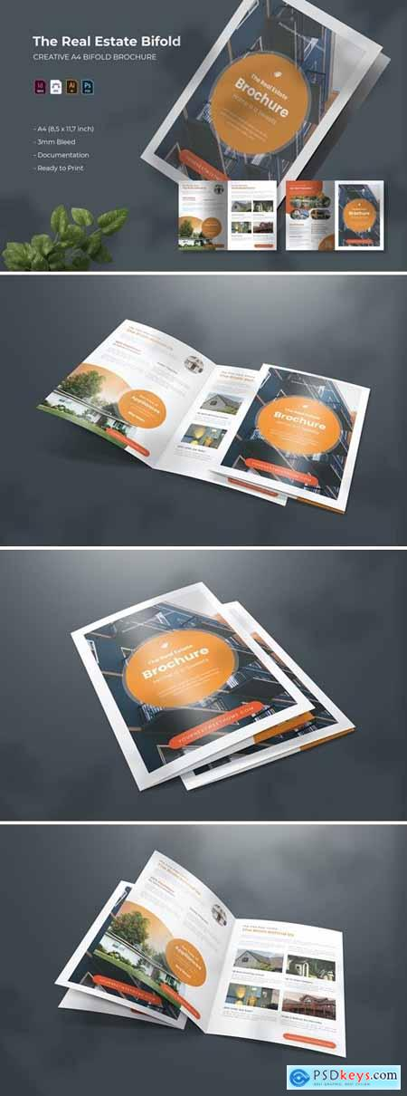 Real Estate - Bifold Brochure