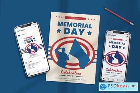 Memorial Day Set Templates