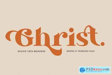 Ghrist - Elegant Bold Serif 6191604
