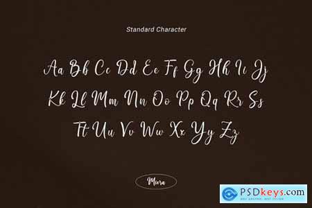 Miera - Joyful Script Font