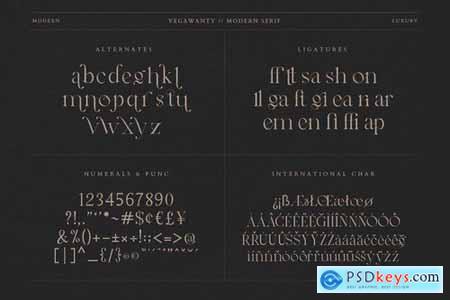 Vegawanty Modern Serif