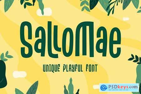 Sallomae - Playful Font
