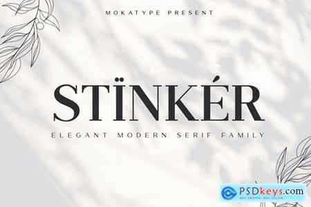 Stinker - Elegant Serif Family