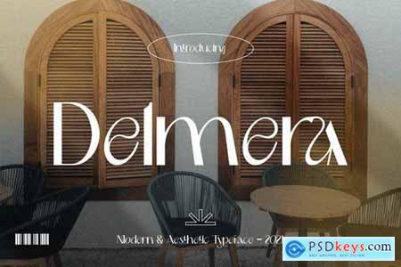 Modern & Aesthetic - Delmera Font