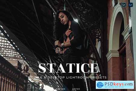 Statice Mobile and Desktop Lightroom Presets